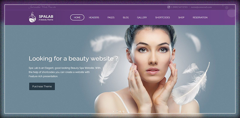 Spa Lab | Beauty Spa & Beauty Salon WordPress Theme