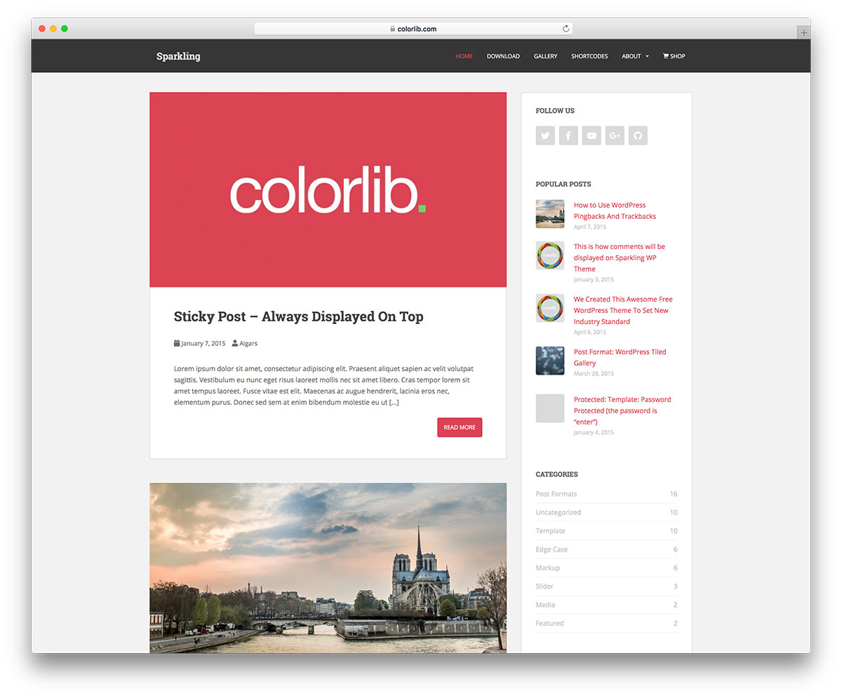 48 Best Free Responsive Blogger Templates 2019 - Colorlib