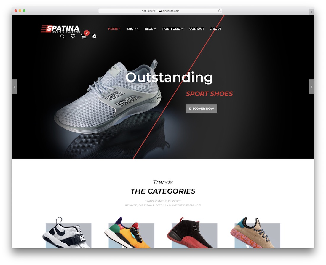 spatina wordpress golf theme