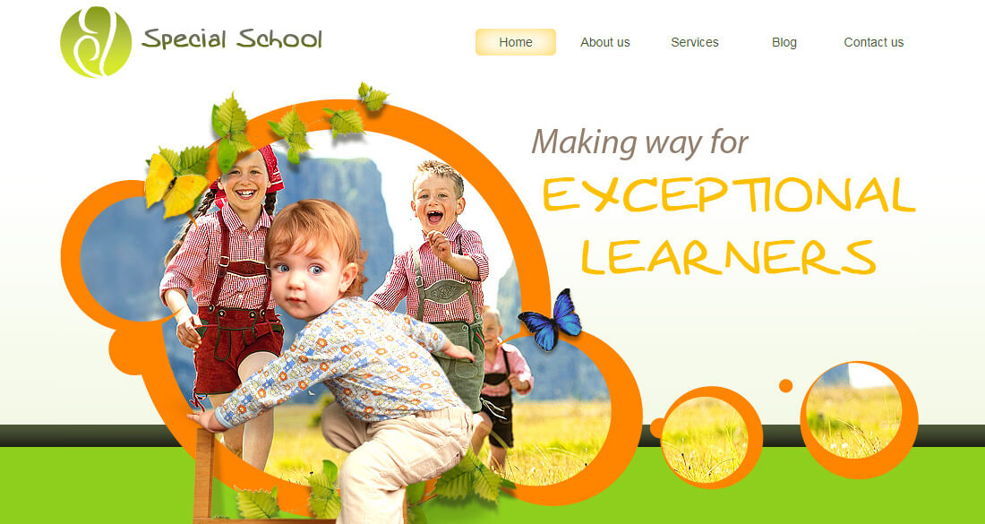 school template