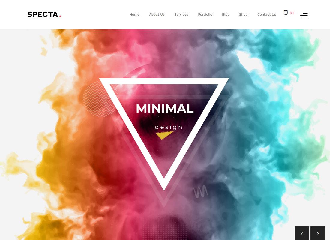 Specta | Multipurpose Portfolio WordPress Theme
