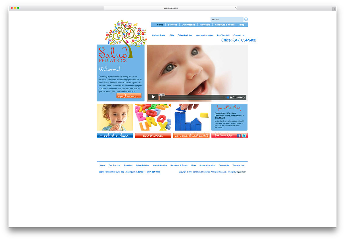 spediatrics-minimal-kids-squarespace-website-example