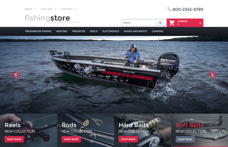 Grow Audience & Boost Sales With 20 Sport Store Prestashop Themes 2016