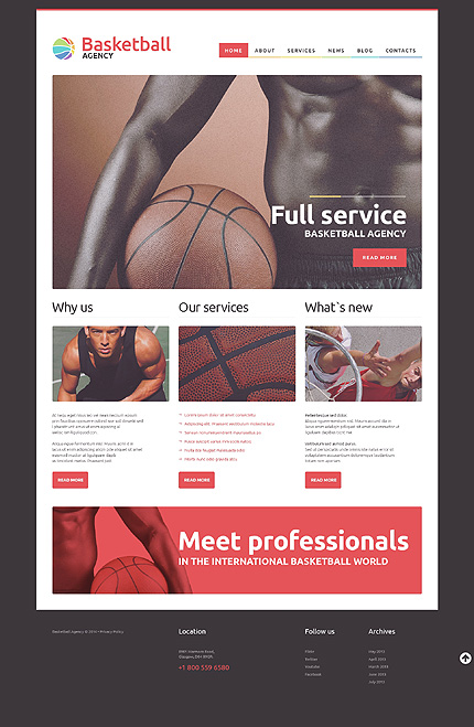 NBA Mentor WordPress Theme