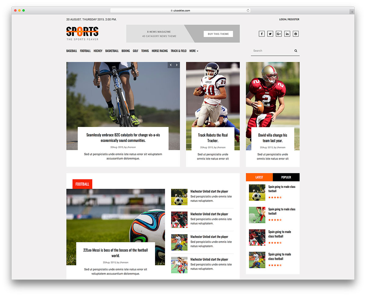 Gemütlich Sport Blogger Vorlagen Zeitgenössisch - Ideen Wieder ...