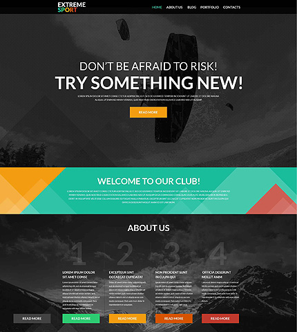 Active Sports WordPress Theme