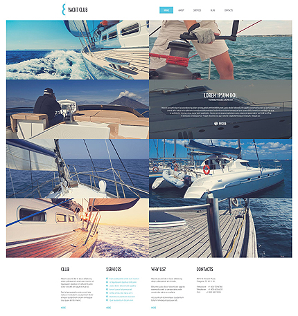 Yacht Vacation WordPress Theme
