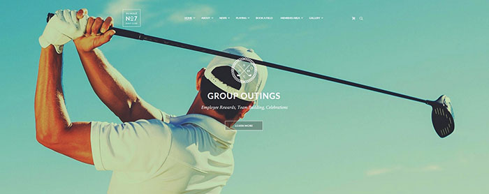 Golf Club, Sports & Events Theme
