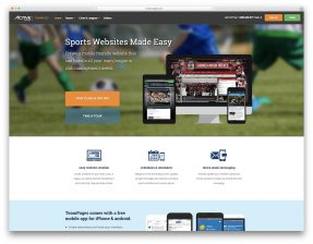 Sports Website Builders
