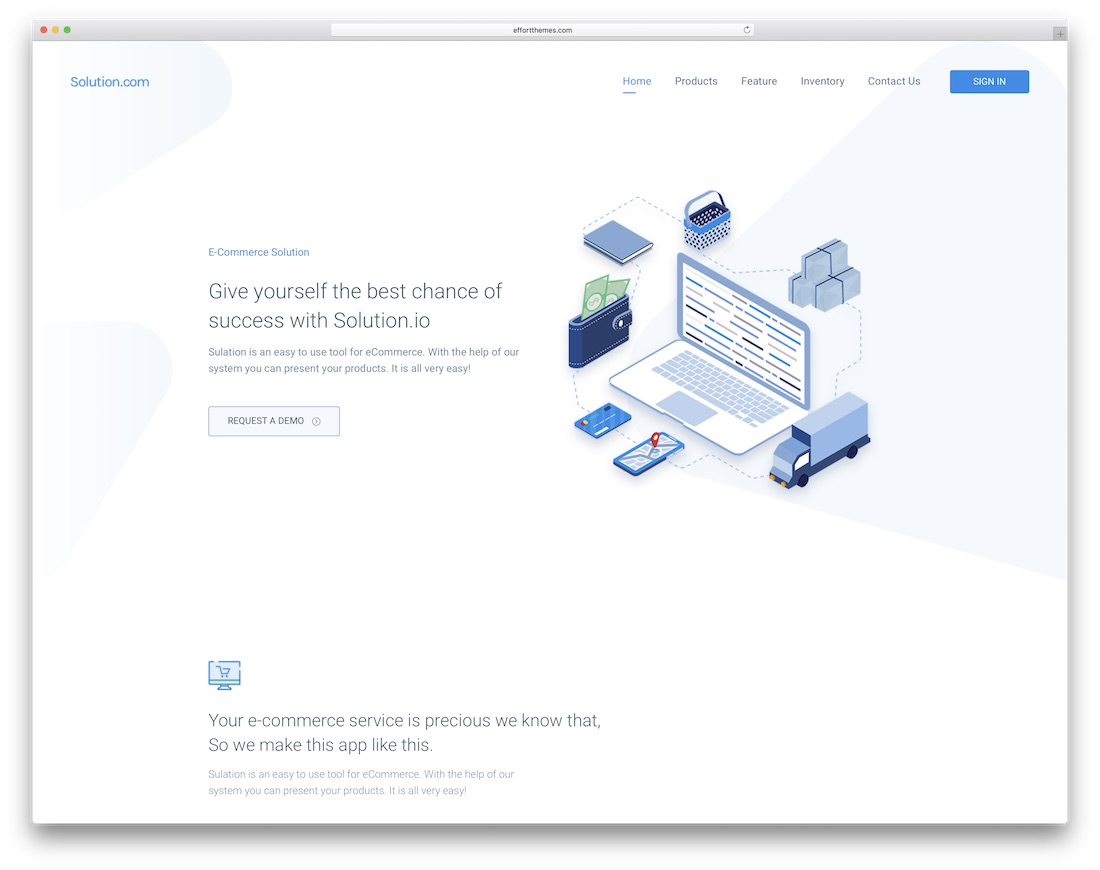spring simple bootstrap template