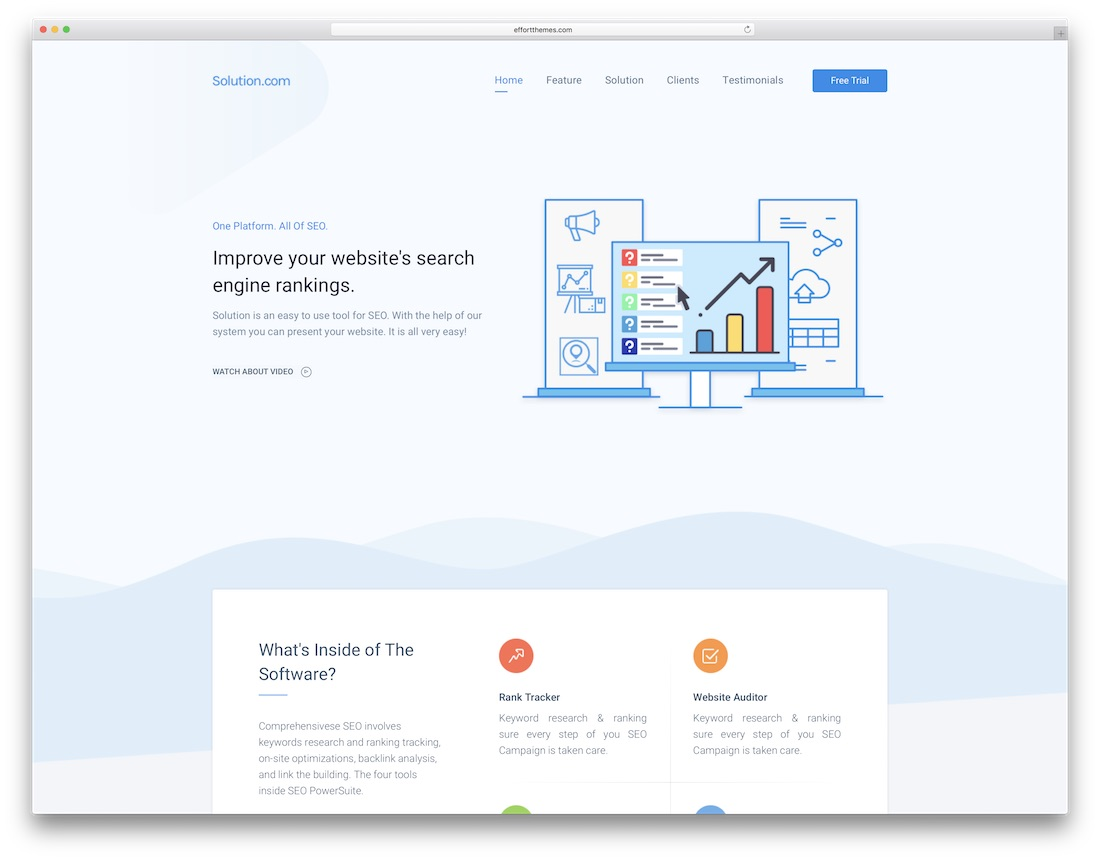 33 Technology Website Templates For Apps & Software 2019 - Colorlib