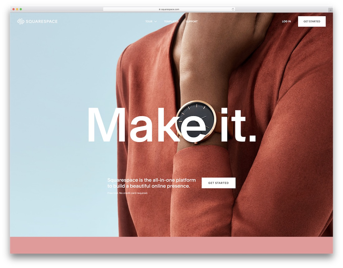 squarespace education website builder