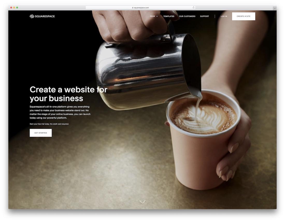 squarespace travel agency website builder