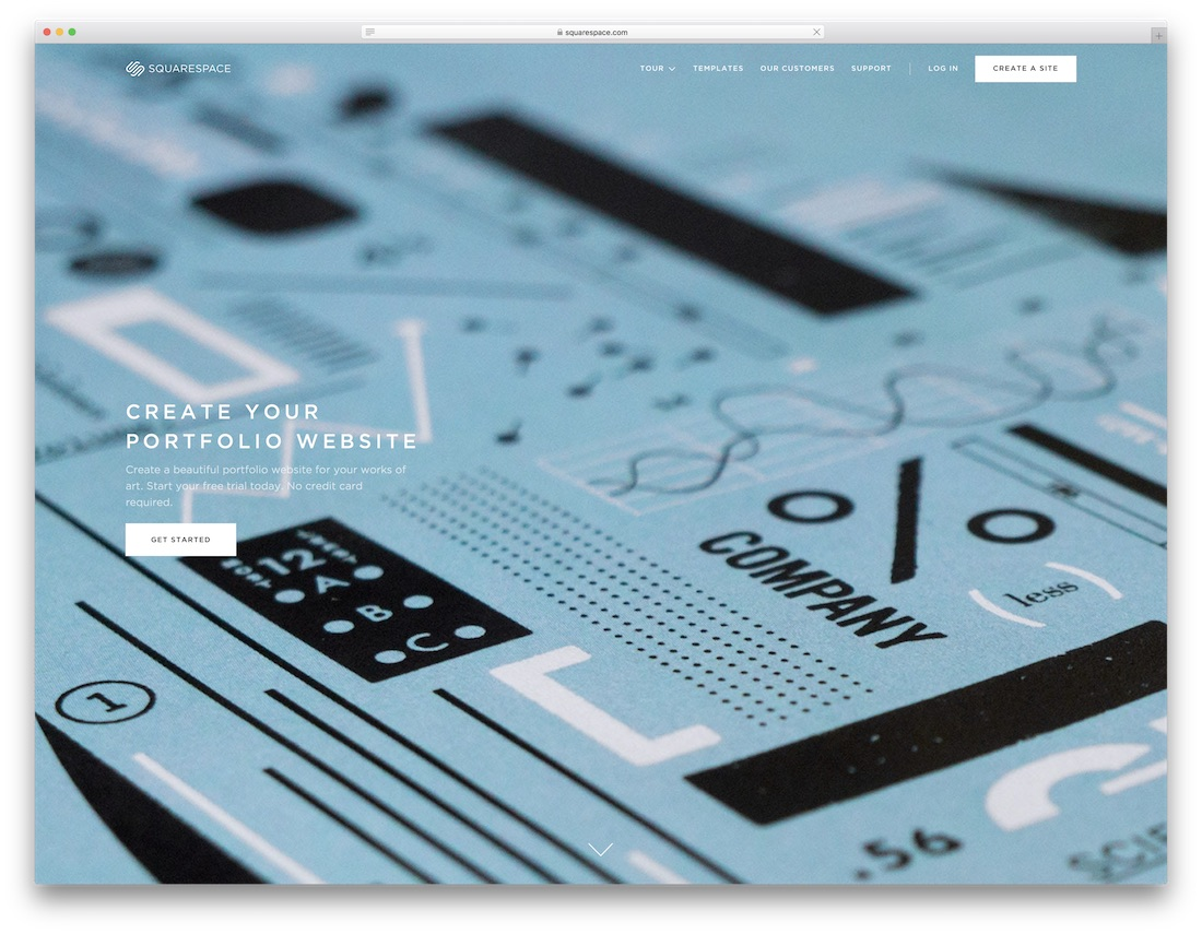 squarespace website builder for designers
