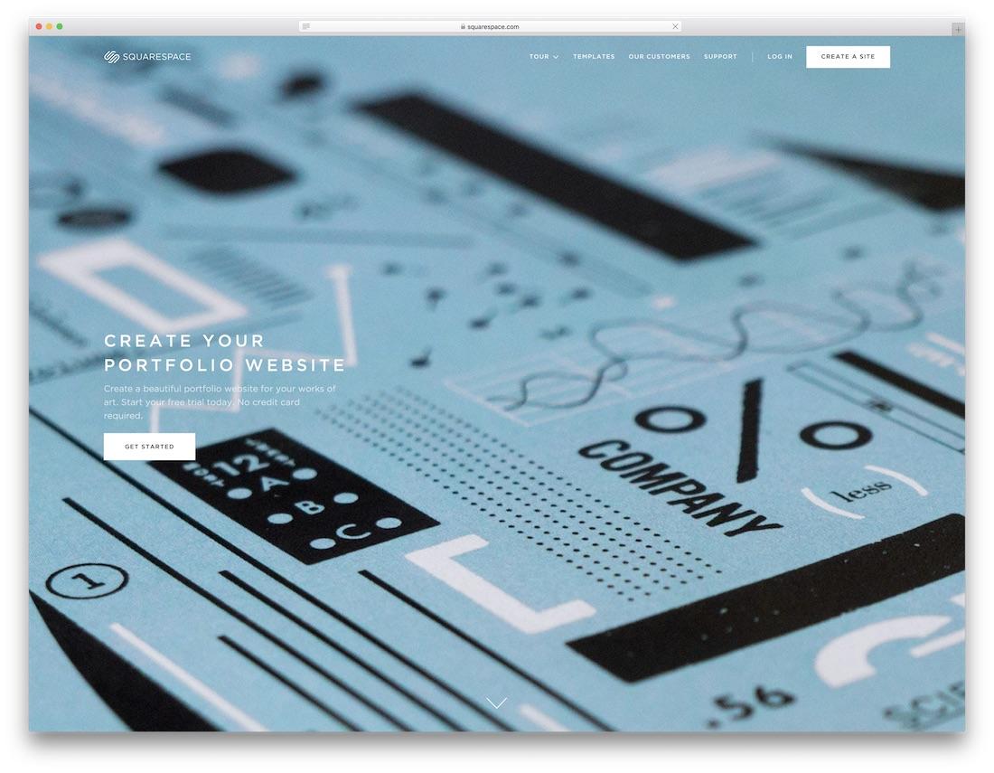 squarespace website builder for designers