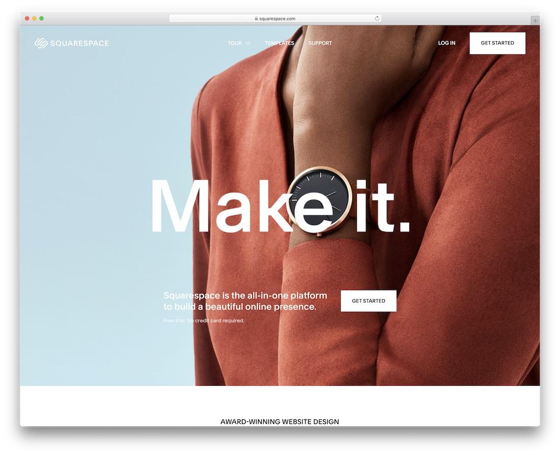 squarespace website builder for non-profit organizations
