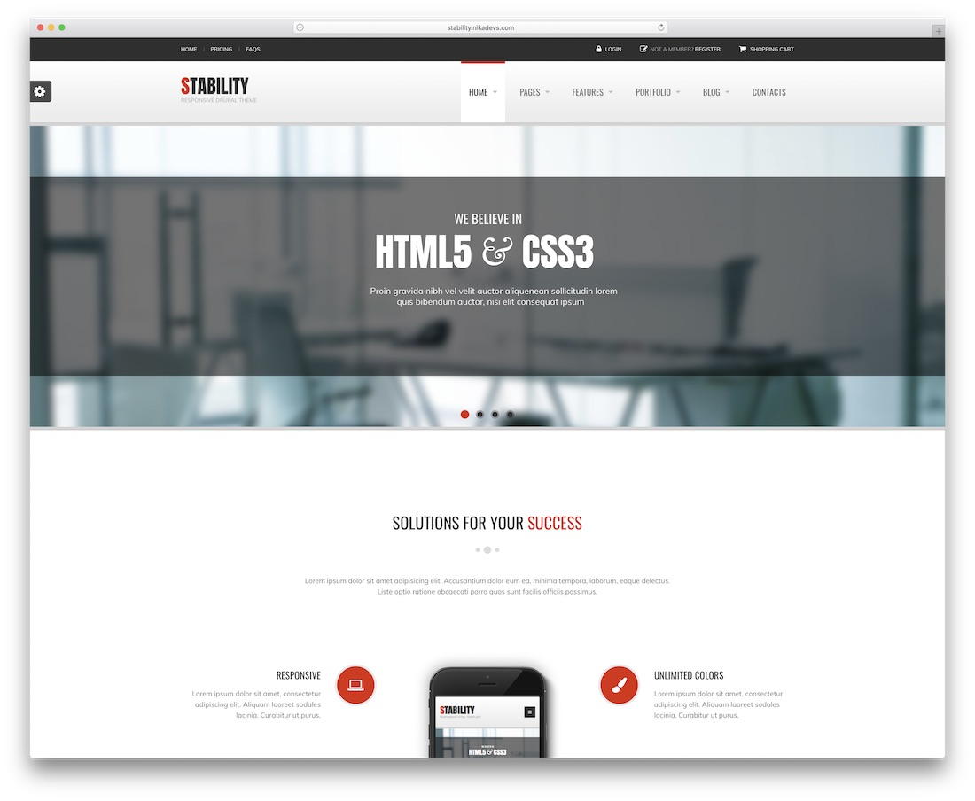 stability drupal business template