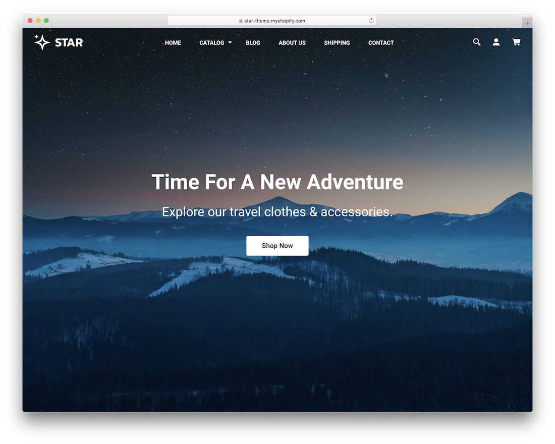 star free best shopify theme