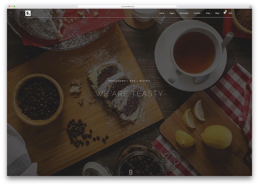 start html5 website template