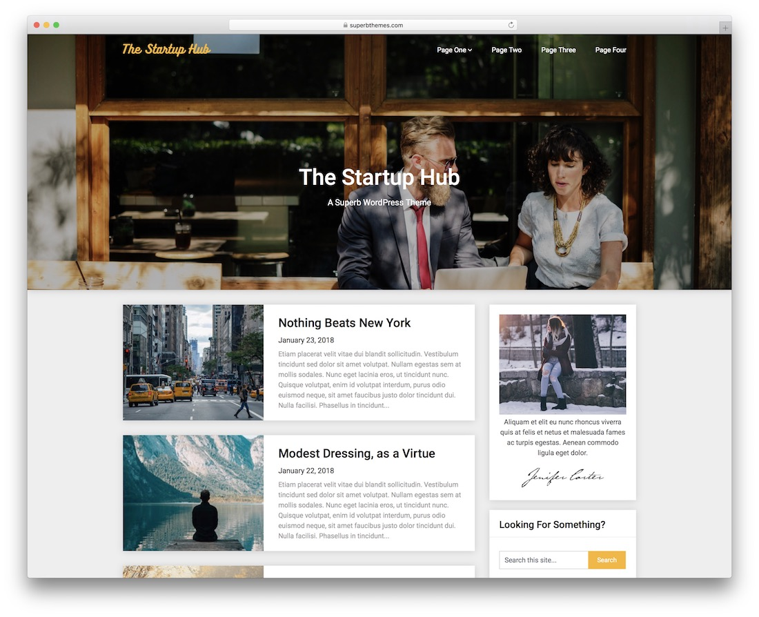 29 Best Free WordPress Themes For Startups 2019 - Colorlib
