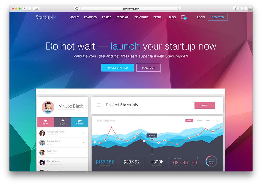 startuply-saas-landing-page