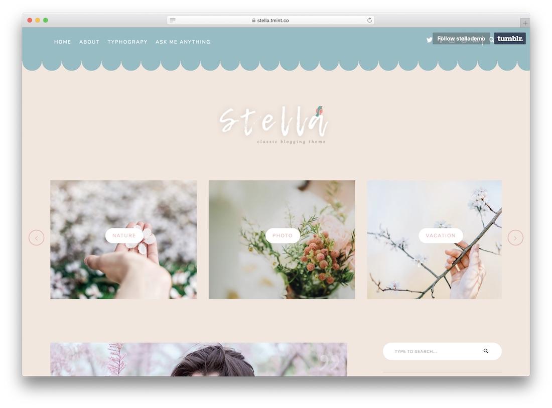 Top 28 Best Premium Tumblr Themes 2020 Colorlib