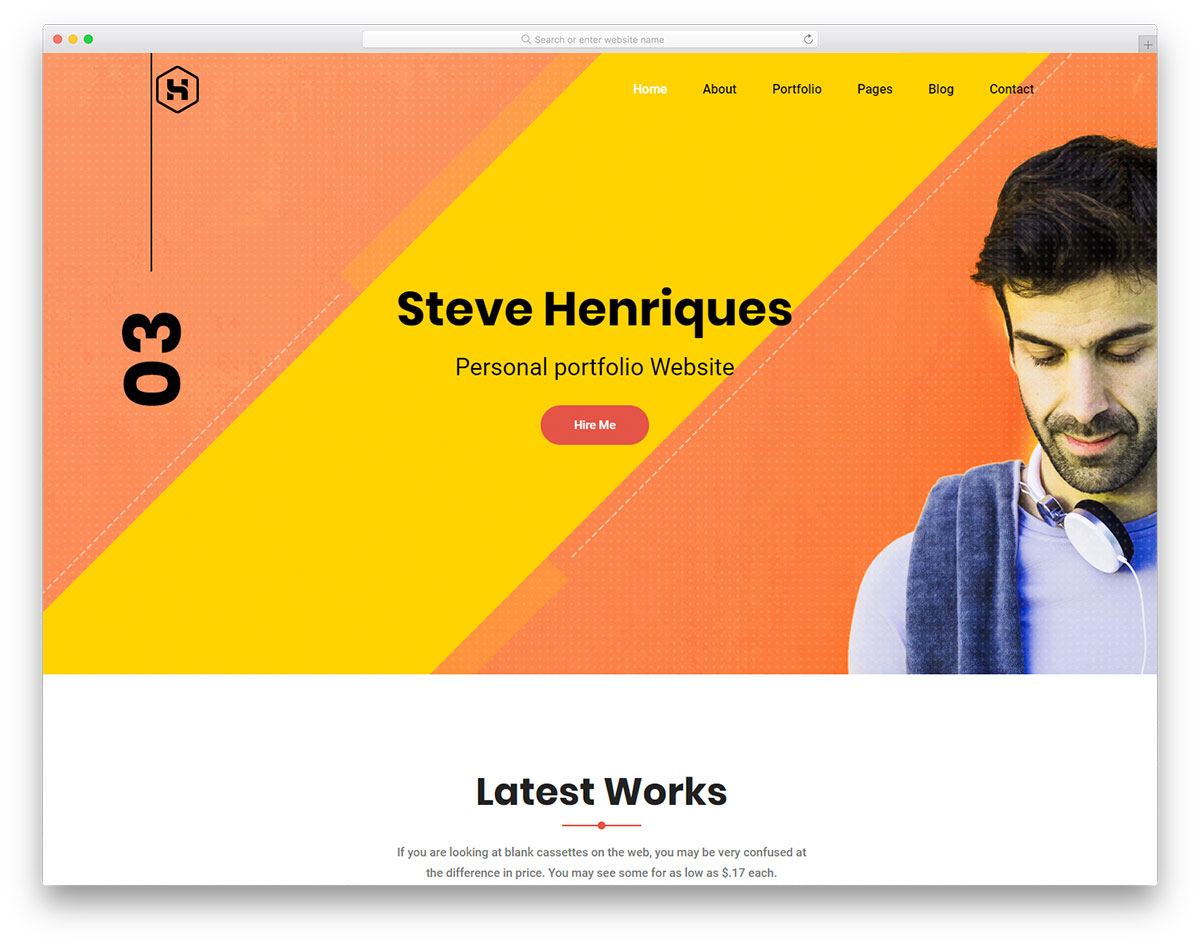 most popular free resume website templates 2018 colorlib