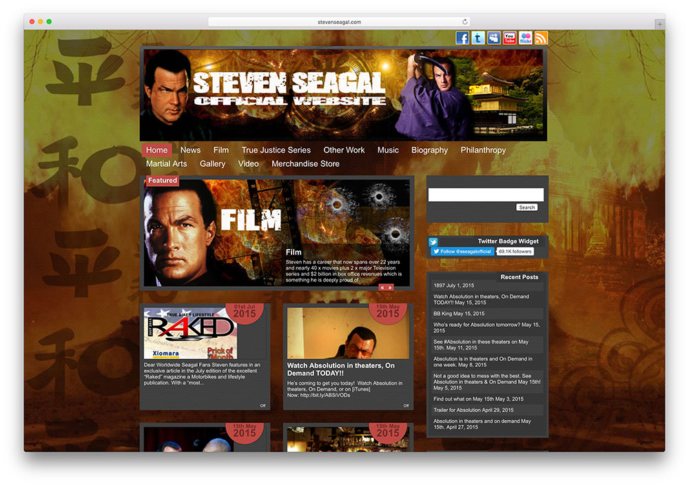 stevenseagal-famous-actor-website-with-wordpress