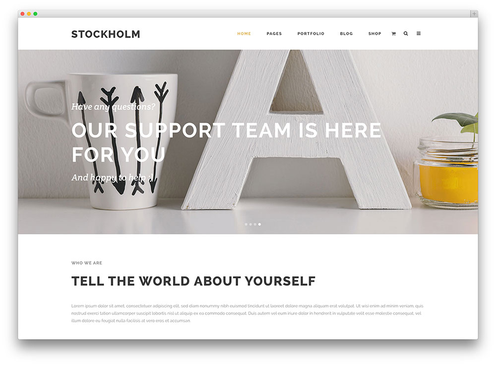 stockholm expressive multipurpose wordpress theme