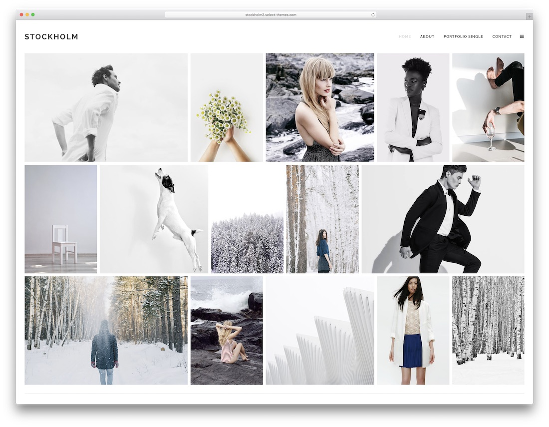 50 Best Wordpress Portfolio Themes 2020 Colorlib