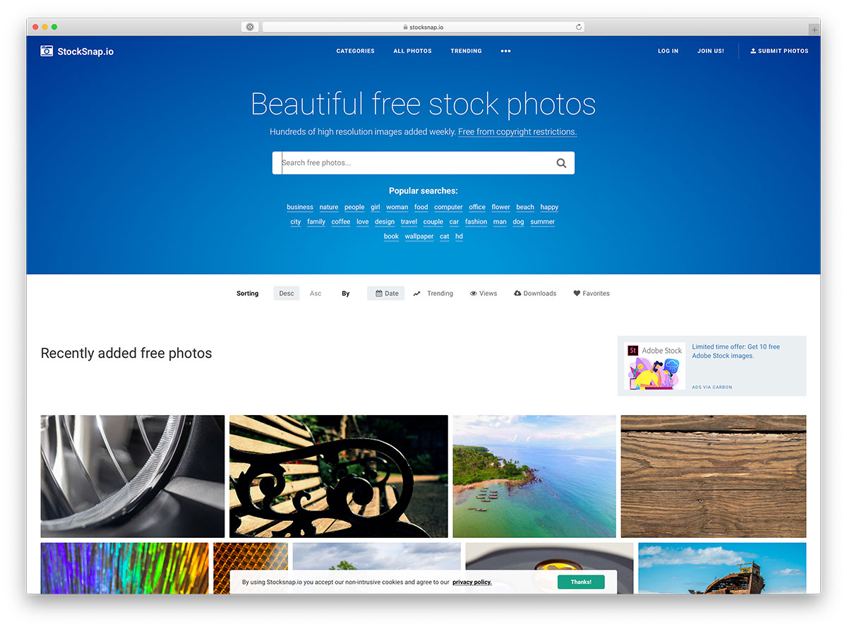 StockSnap - free and beautiful stockl photos