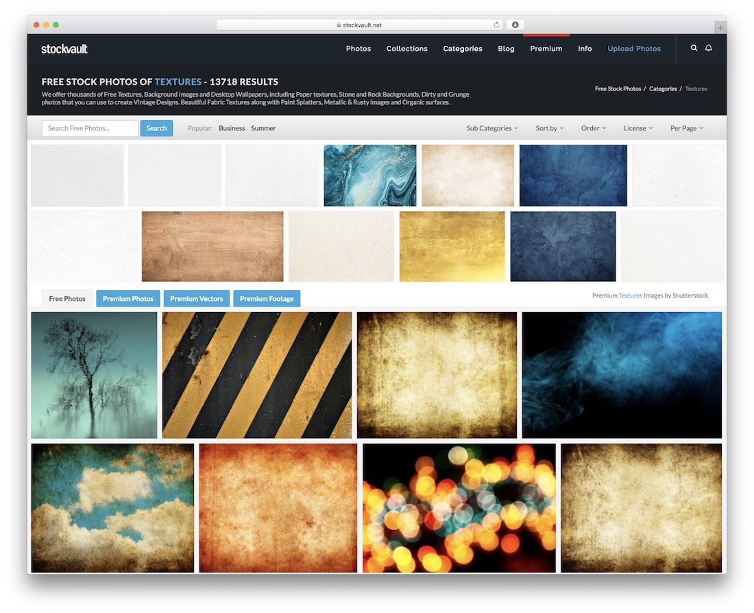 Top 16 Resources of Textures for Web Designers & Artists - Colorlib