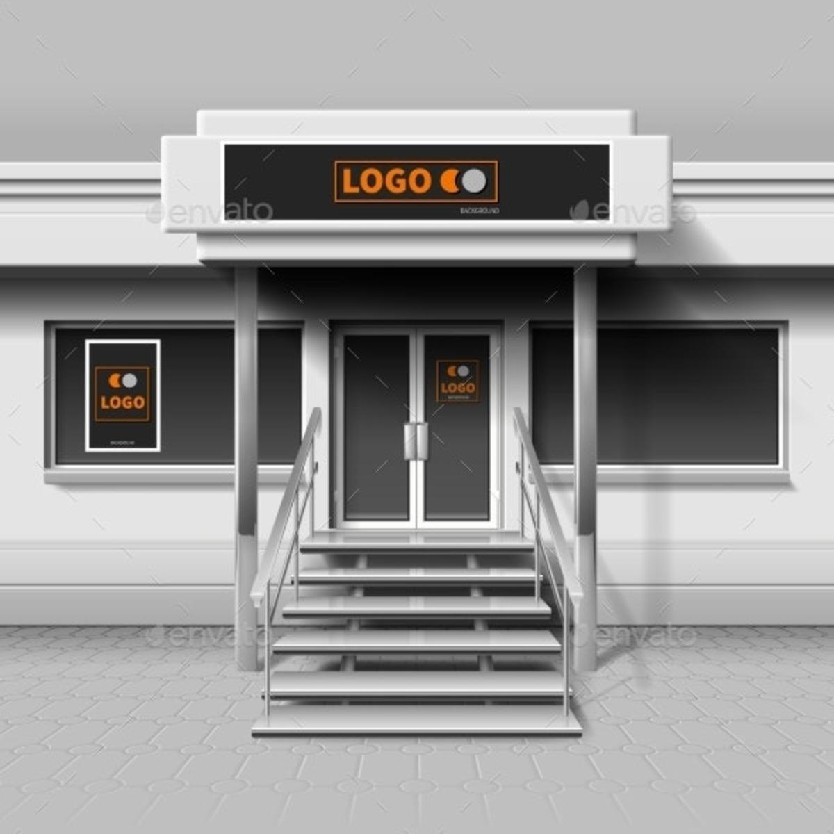 23 Best PSD Storefront Mockups 2020