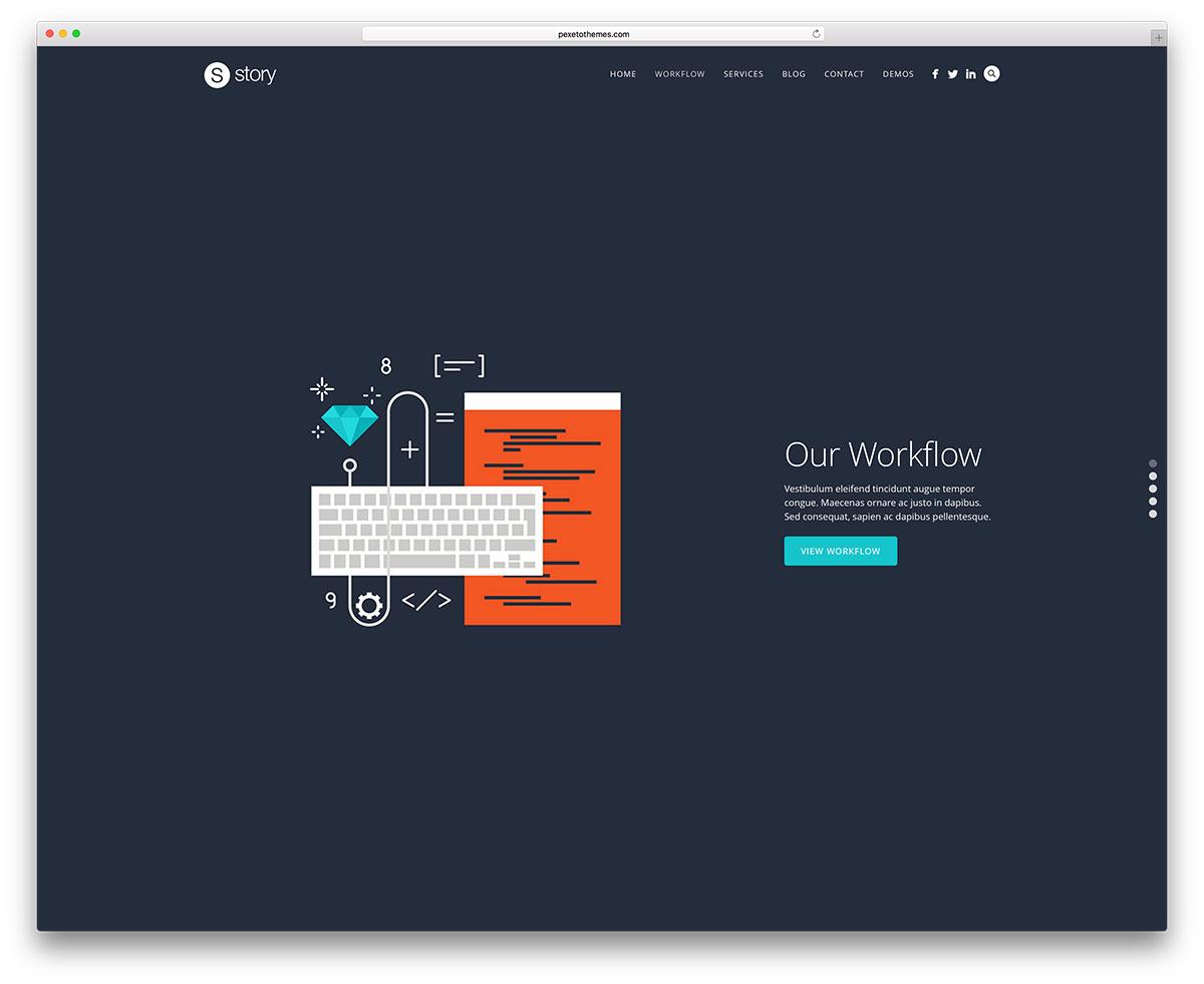 story-fullscreen-portfolio-website-template