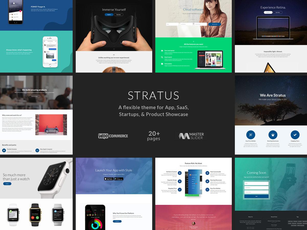 36 Best App & Software Showcase WordPress Themes 2019 - Colorlib