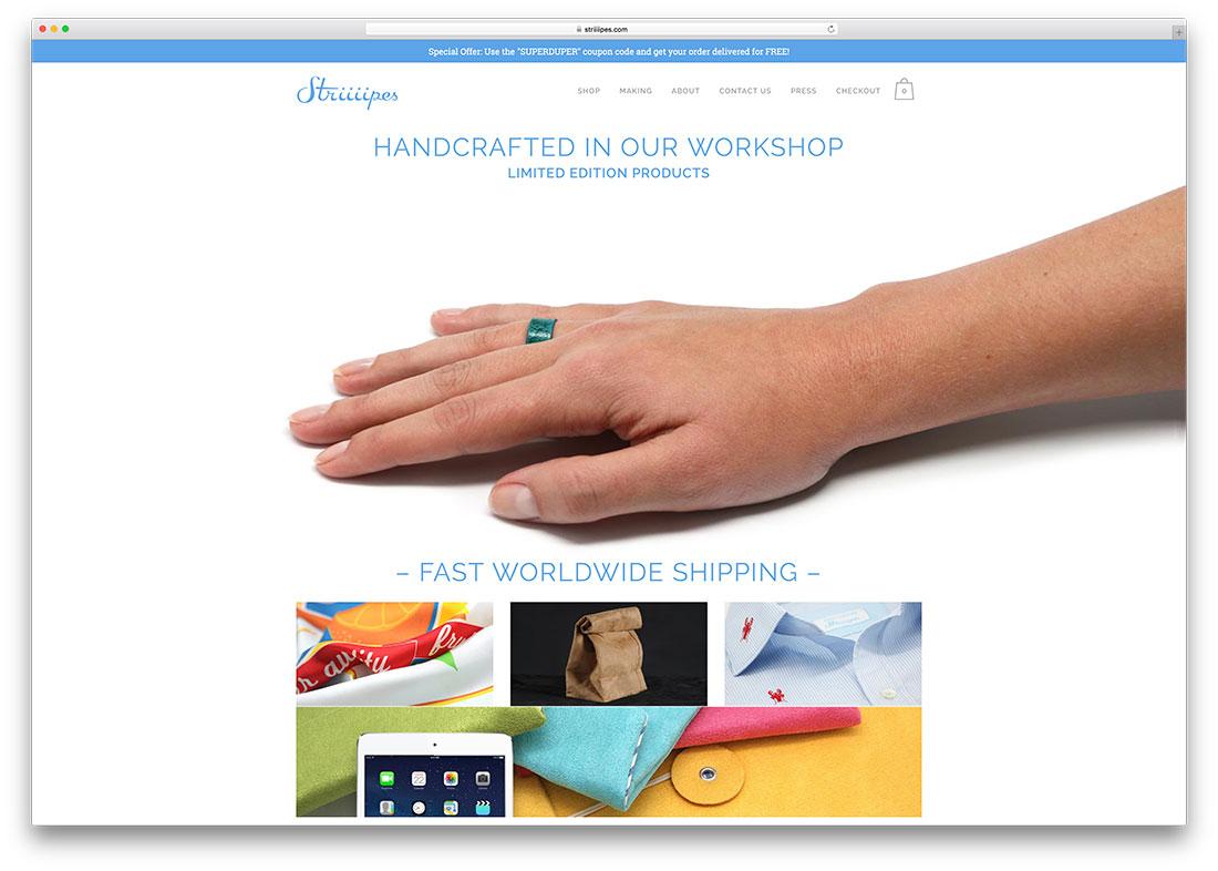 striiiipes-handcrafted-goods-woocommerce-website
