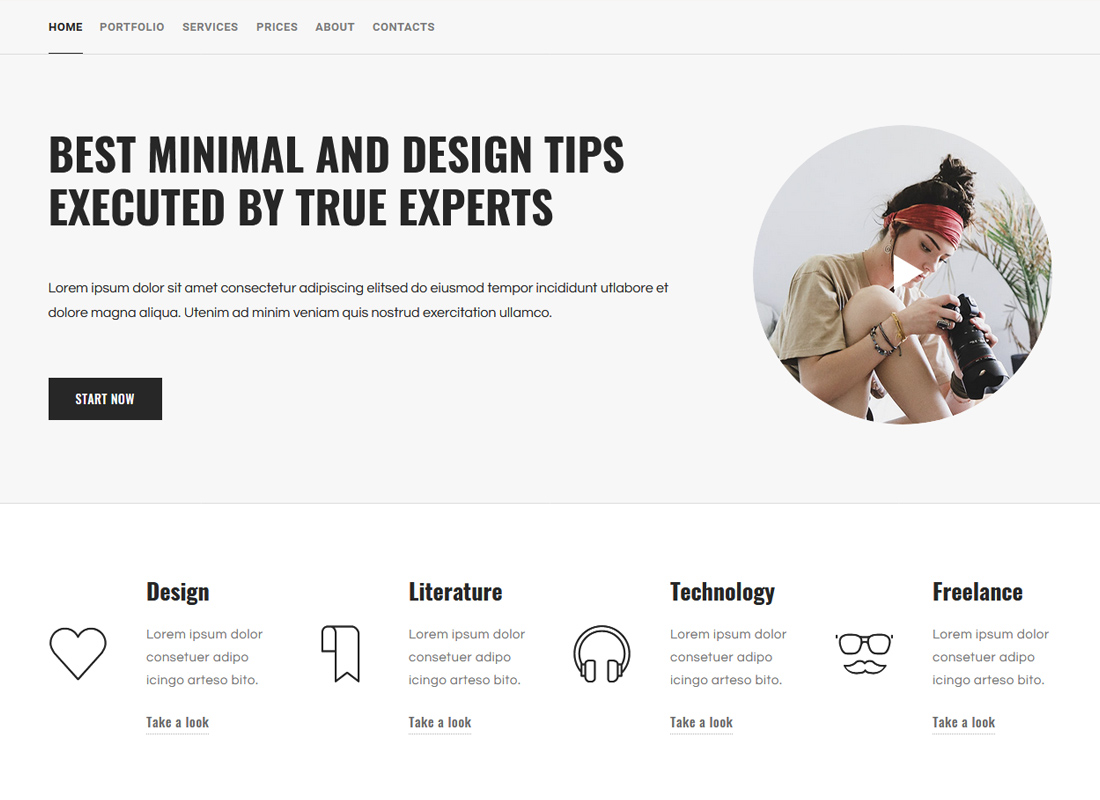 Structura | One Page And Multipurpose WordPress Theme