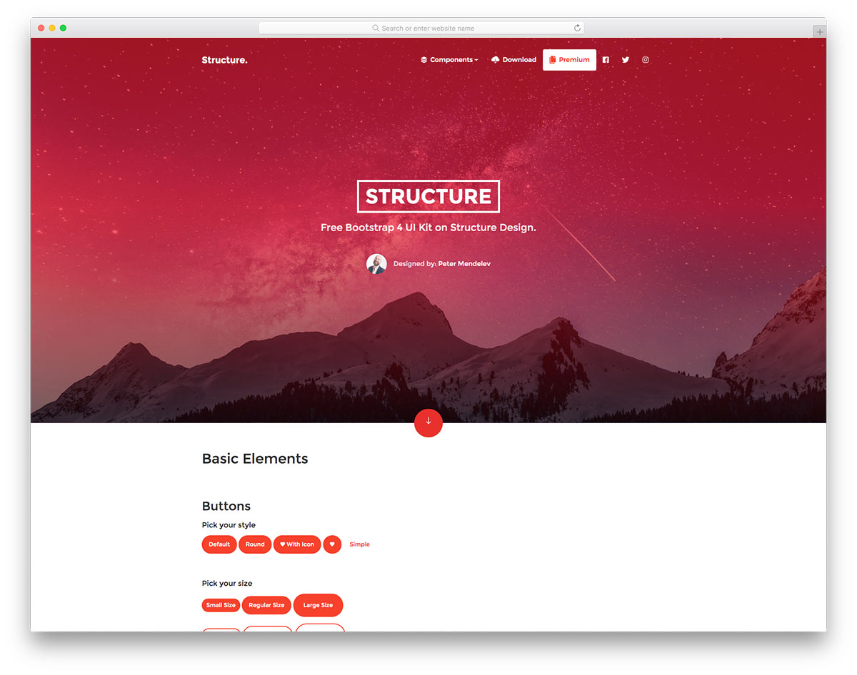 Structure UI Kit