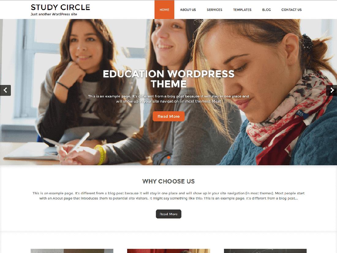 Study Circle WordPress Education Theme