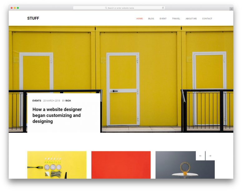 30+ Modern Free CSS Website Templates & WordPress Website Templates