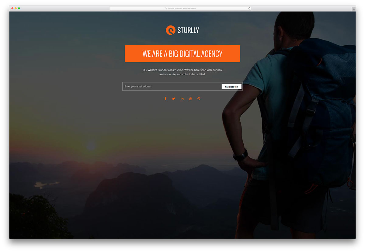 sturlly-website-under-construction-page