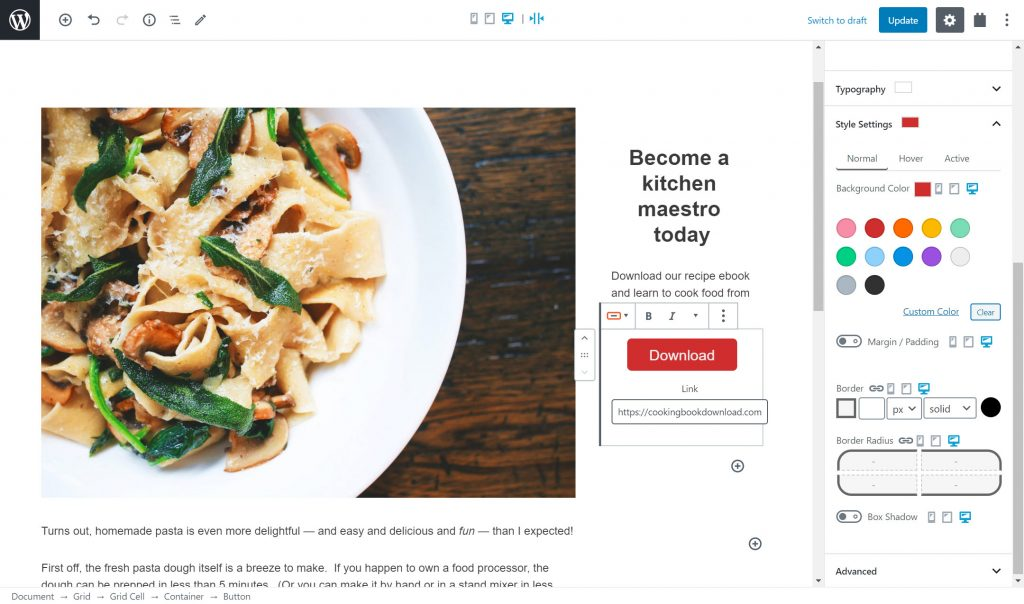 , How to create a custom WordPress page template, Rojak WP