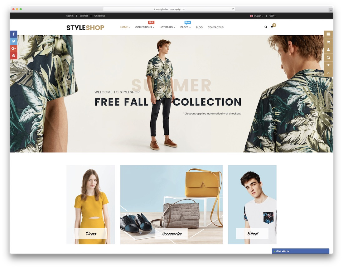 styleshop fashion shopify theme