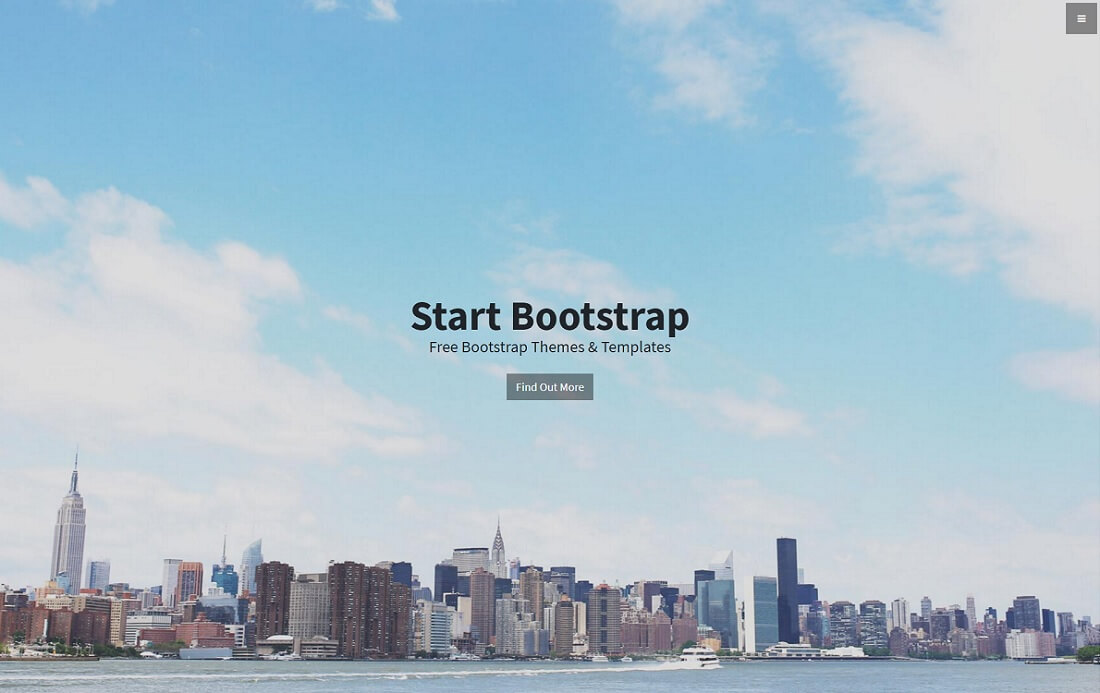 stylish free bootstrap 4 portfolio website template