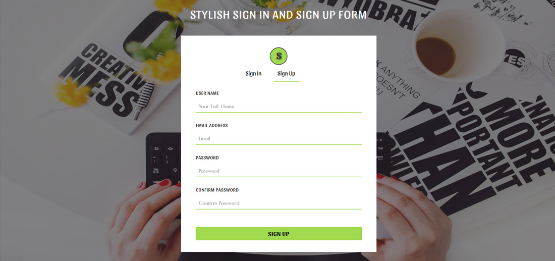 20 Best Free Bootstrap Registration Forms For All Sites Colorlib