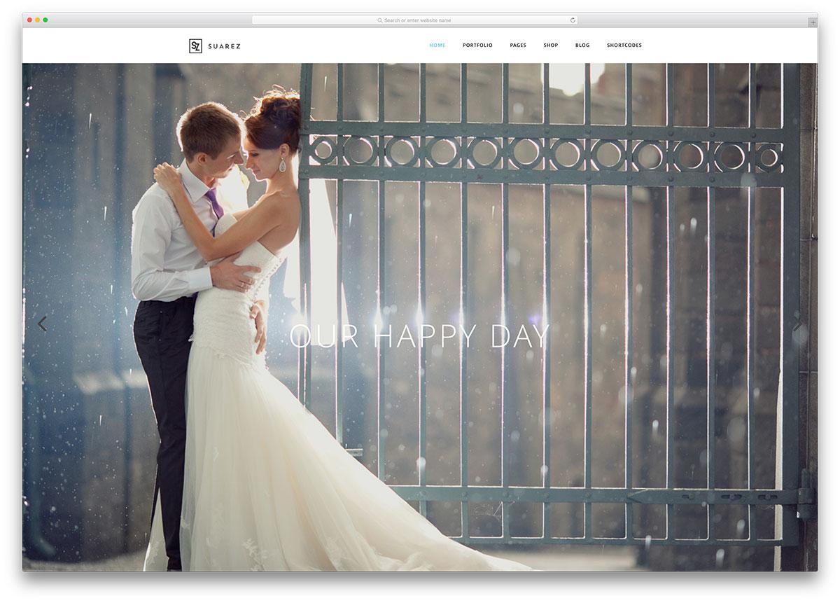 suarez-classic-fullscreen-wedding-website-template