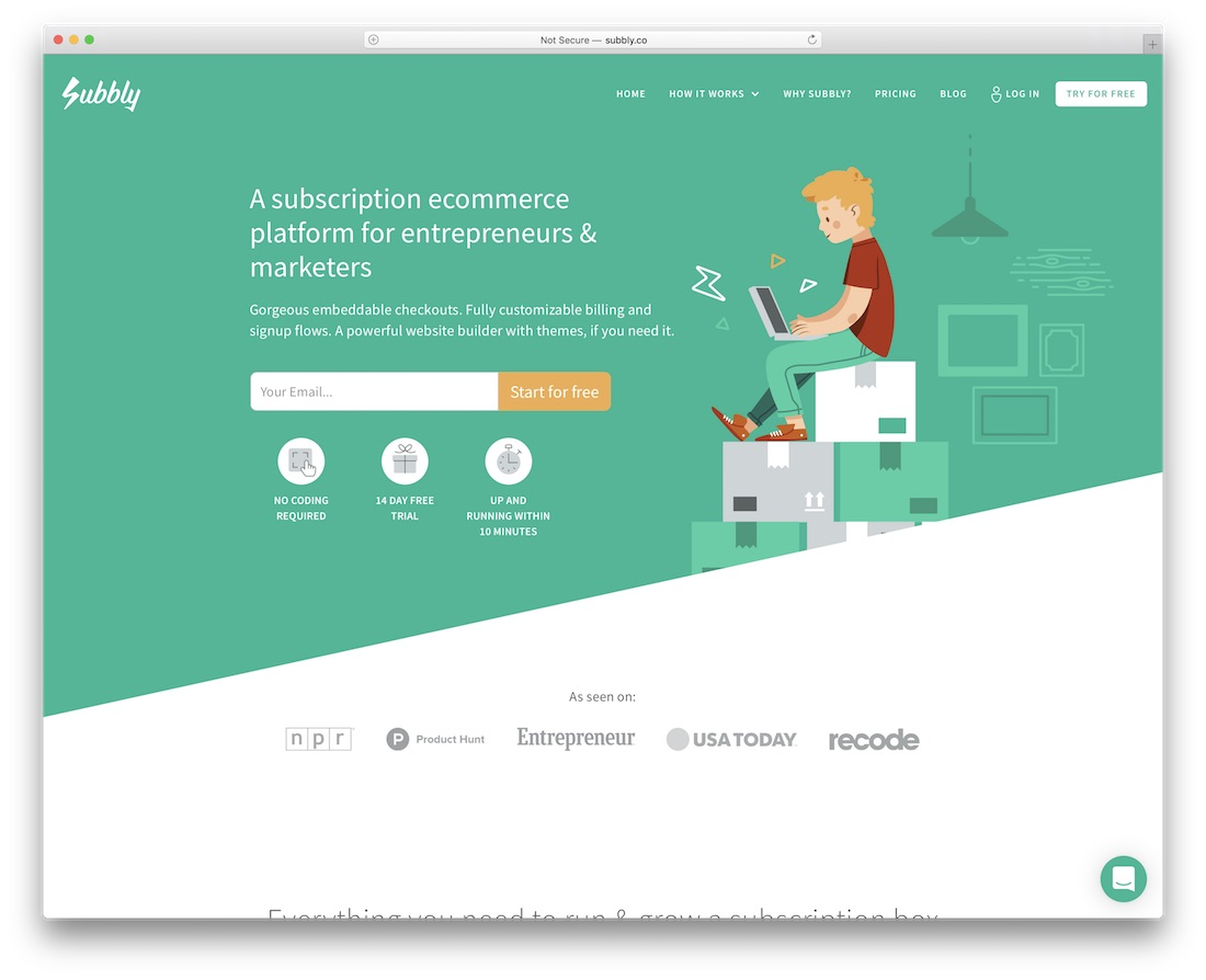subbly membership website builder