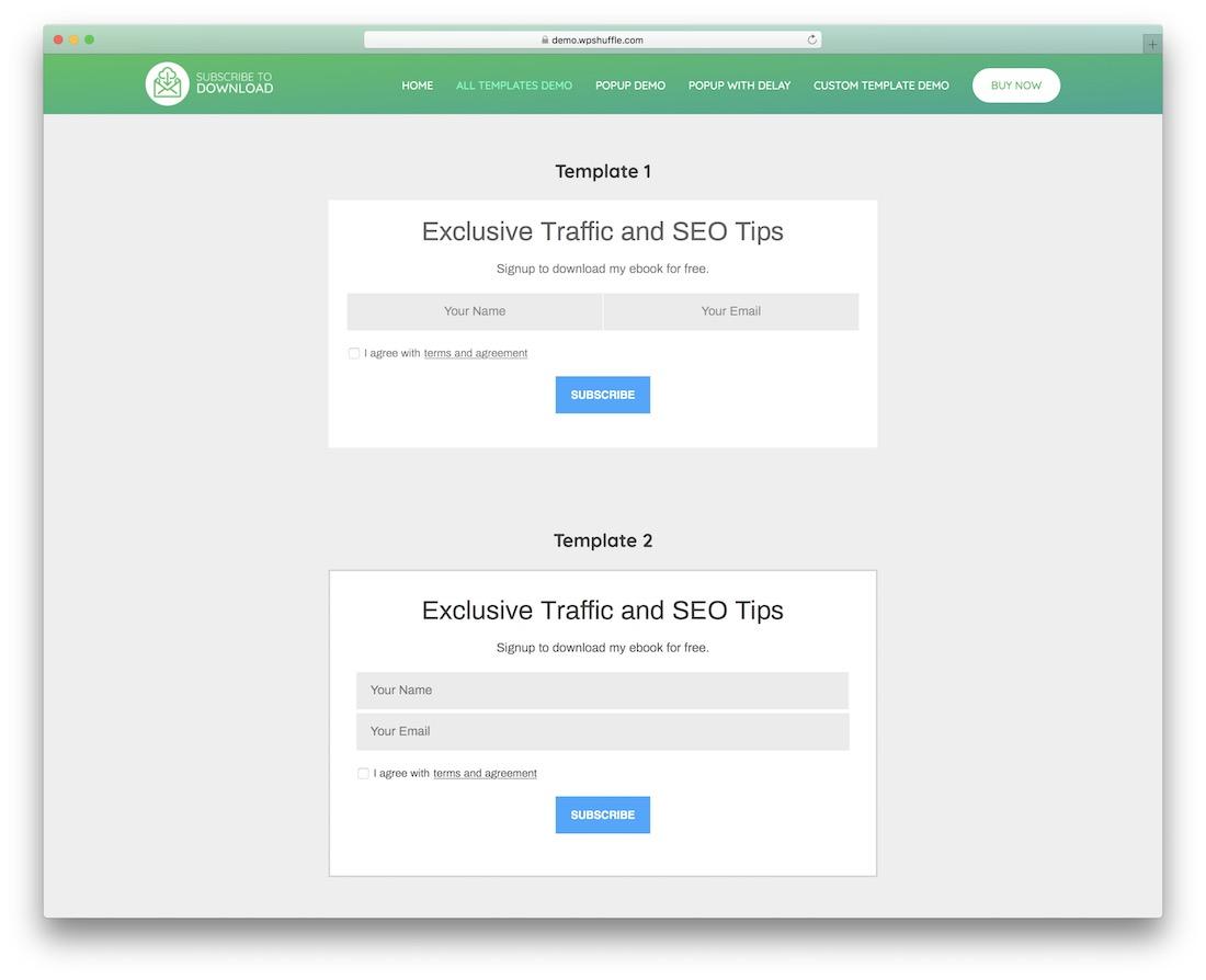 subscribe to download wordpress plugin
