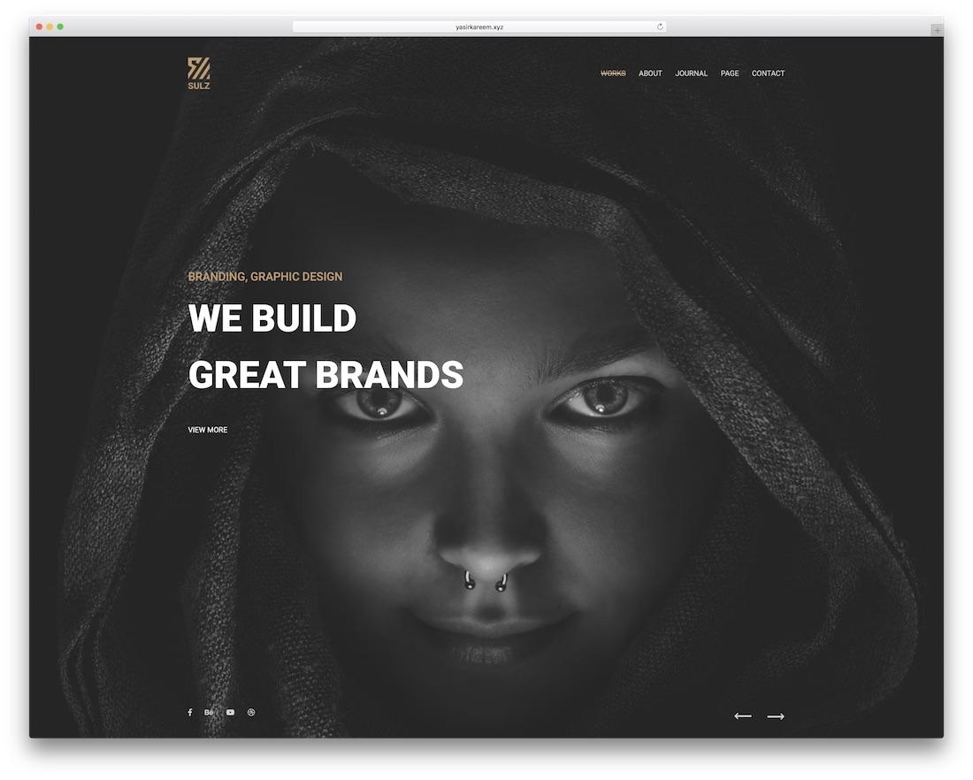 sulz beautiful website template
