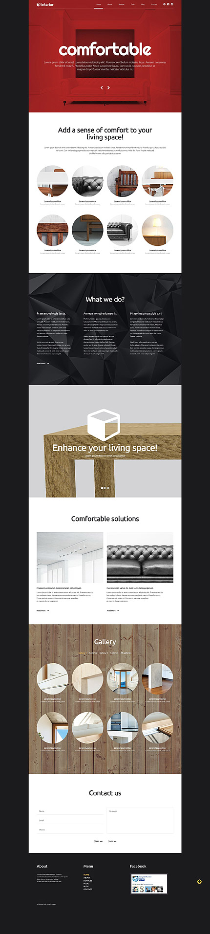 Interior WP Template